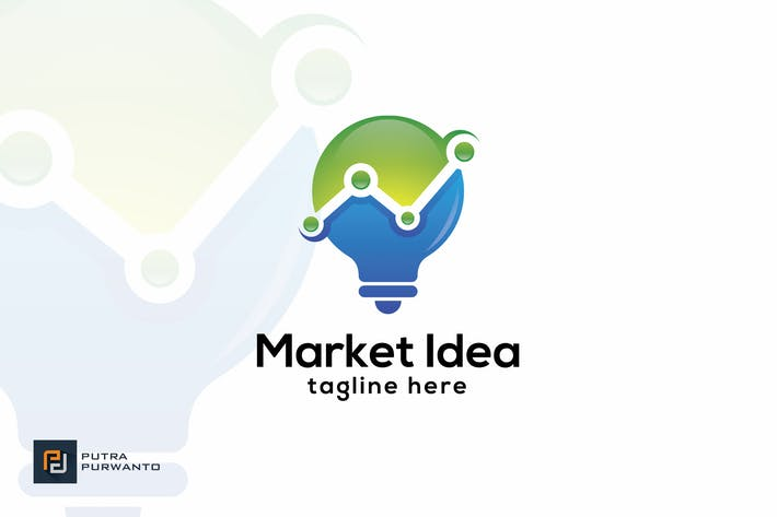 Thumbnail for Market Idea - Logo Template