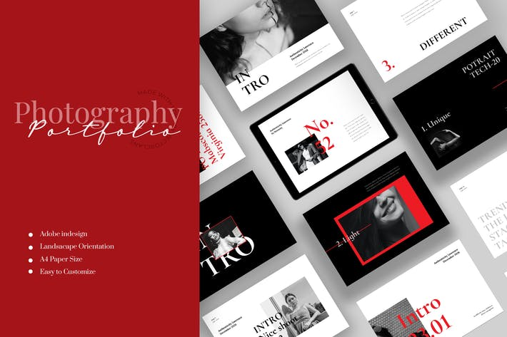 Thumbnail for Intro - Photography Portfolio Template