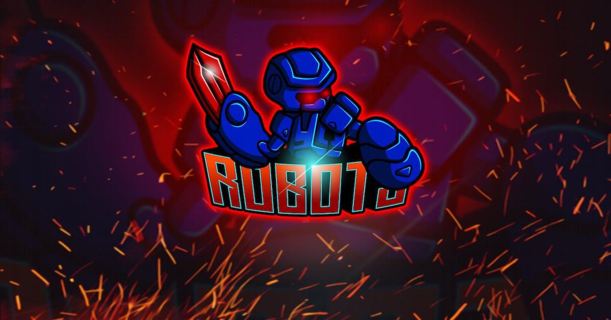 Download Blue Robot - Esport & Mascot Logo YR by Rometheme