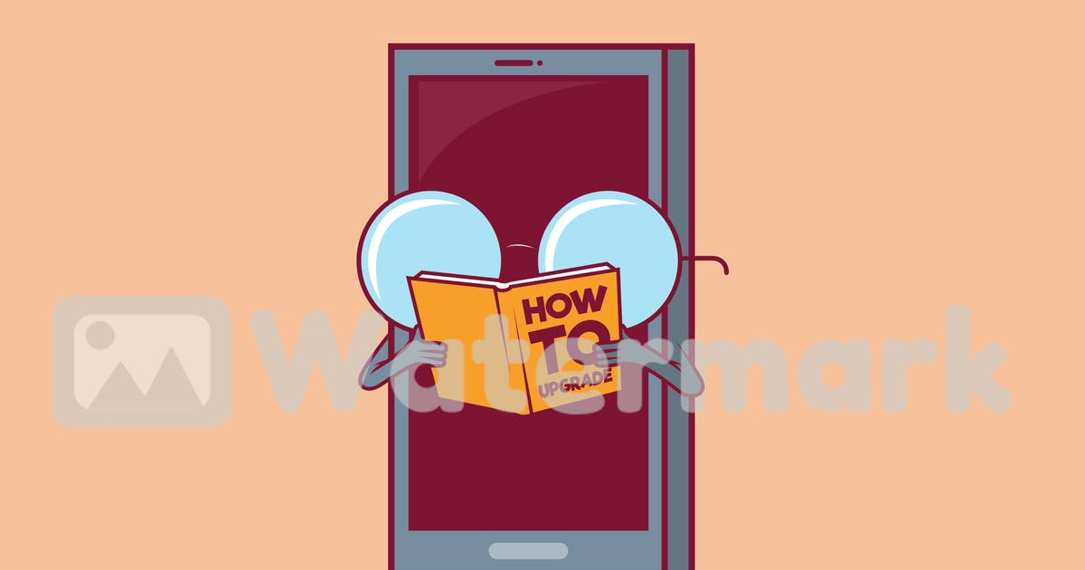 Download Cell phone reading a book by fernandespedro