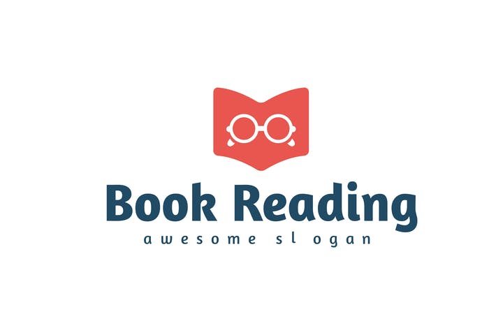 Thumbnail for Book Reading Logo Template