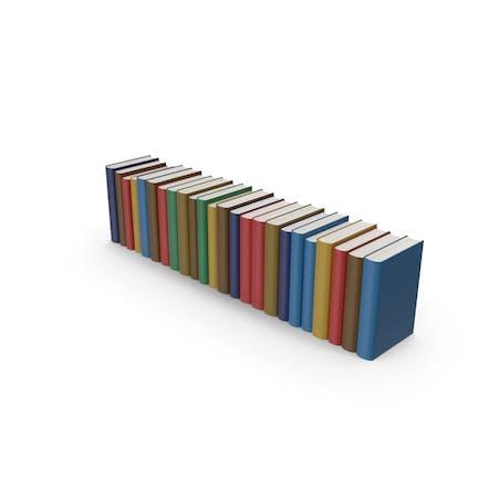 Colleción de Libro coloridos