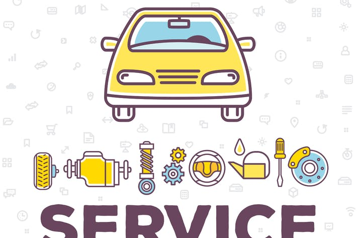 Thumbnail for Car services: repair, wash, diagnostics