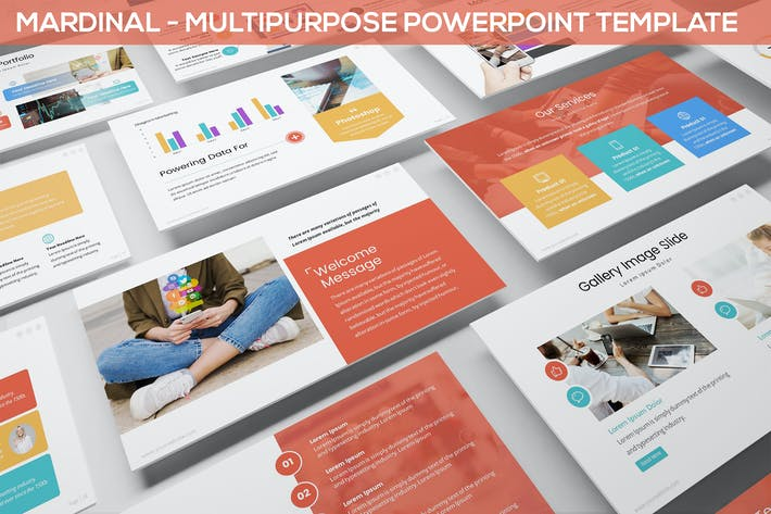 Thumbnail for Mardinal - Multipurpose Powerpoint Template