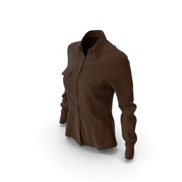 Women's Shirt Brown
