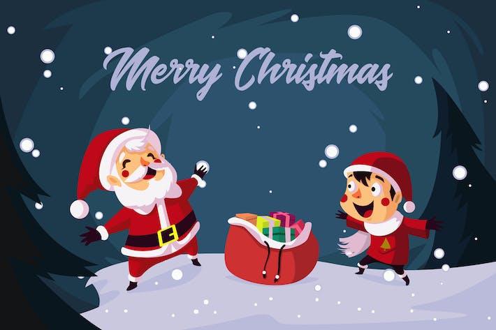 Thumbnail for Merry Christmas - Vector Illustration
