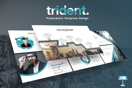 Trident - Keynote Template Design