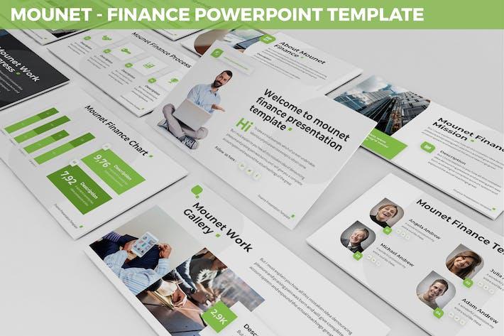 Thumbnail for Mounet - Finance Powerpoint Template