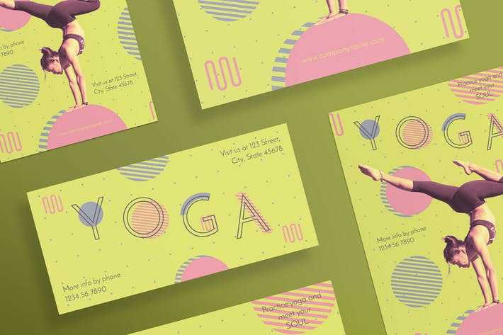 Cover Image For Yoga Workout Flyer and Poster Template
