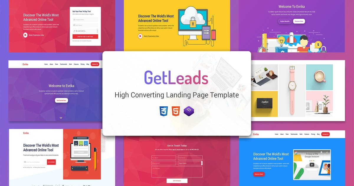 Download GetLeads - Marketing HTML Landing Page Template by Epic-Themes