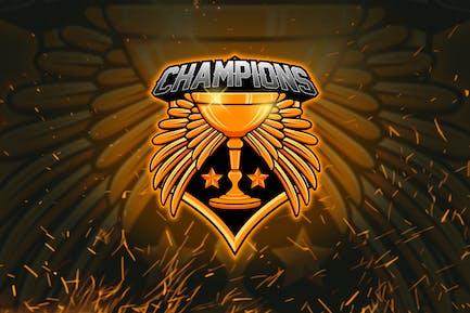 Trophée - Logo de mascotte Esports YR