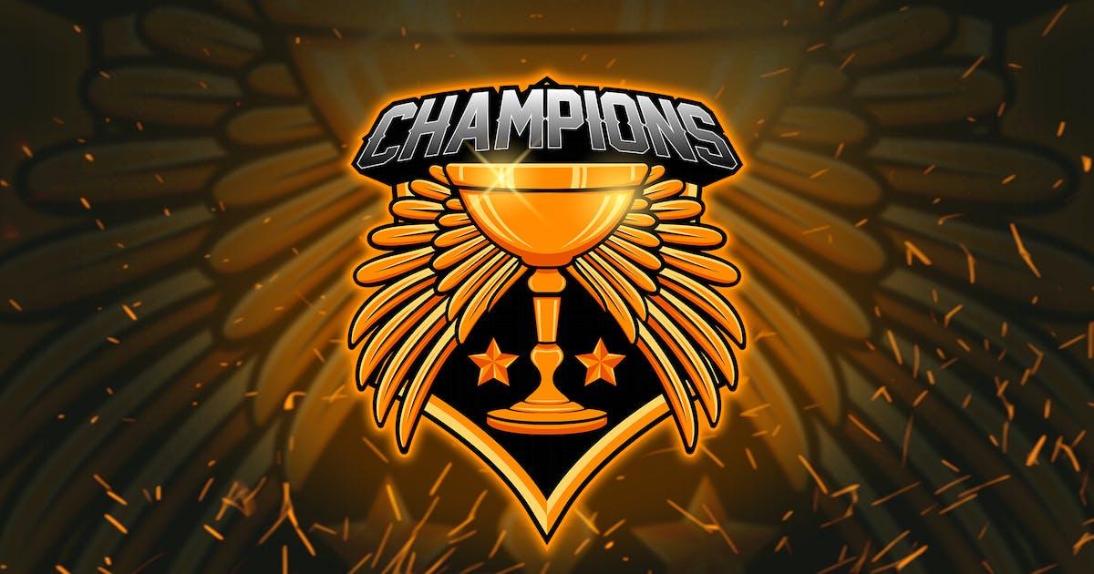 Download Trophy - Esports Mascot Logo YR by Rometheme