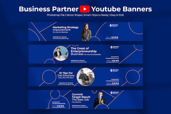 Thumbnail for Business Partner - Youtube Banner