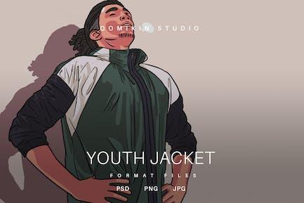 Youth Jacket Illustration