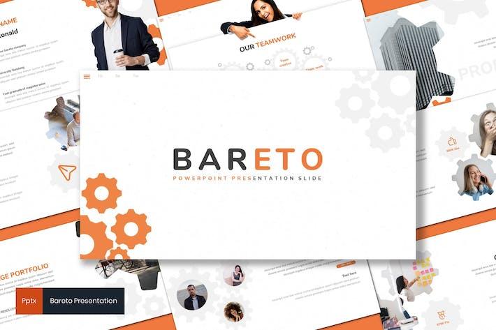 Thumbnail for Bareto - Business Powerpoint Template