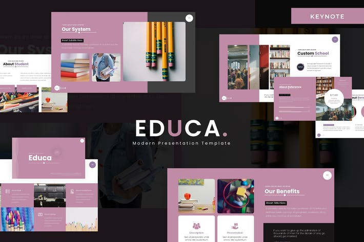 Thumbnail for Educa - Keynote Template