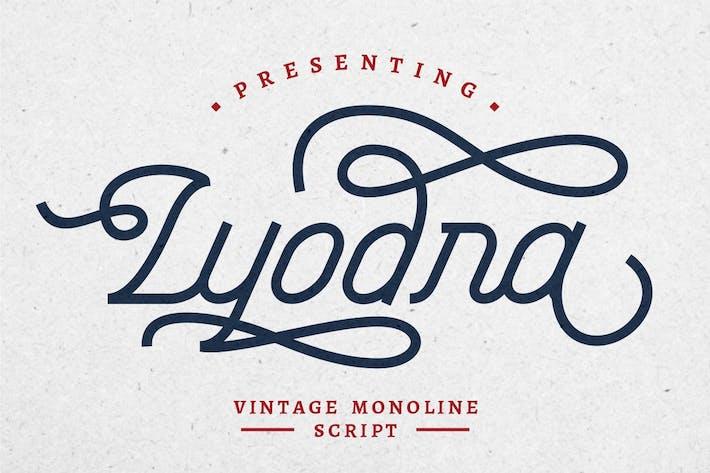 Thumbnail for Lyodra - Modern Vintage Script