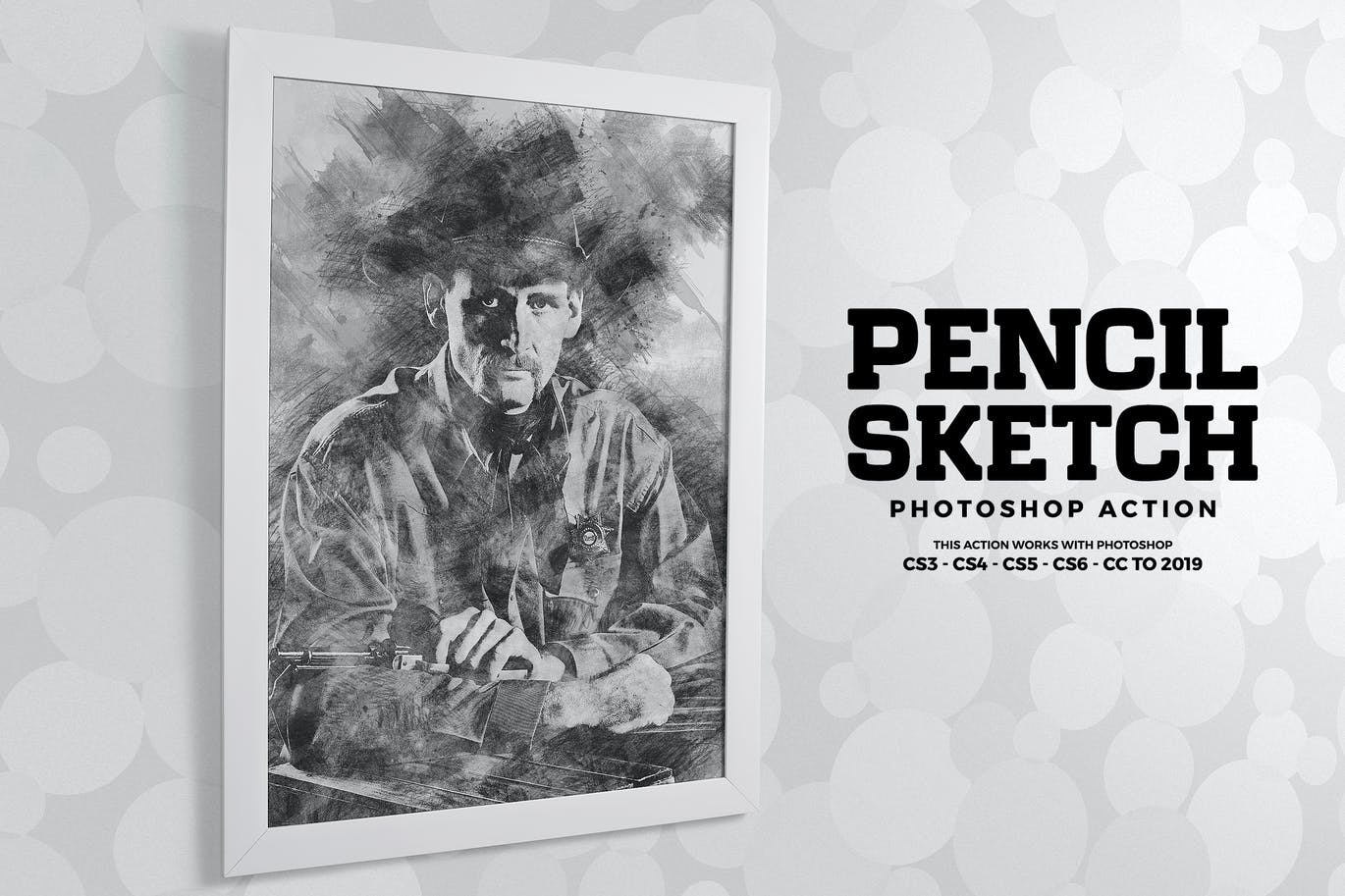 Pencil sketch photoshop action by eugene design on envato elements