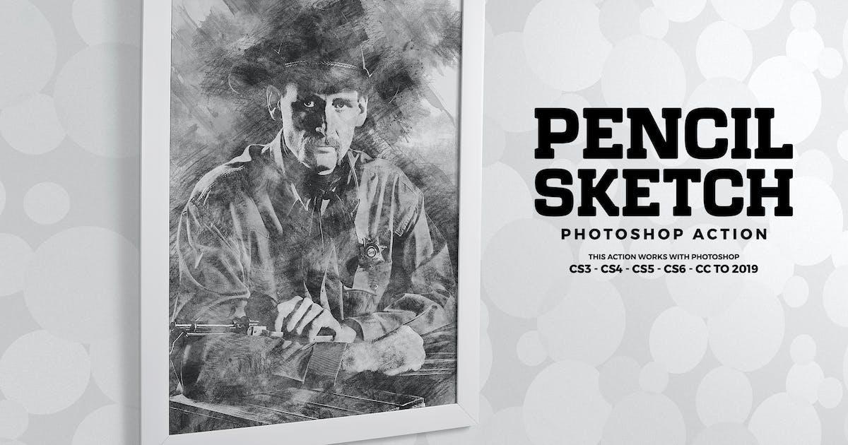 Download Pencil Sketch Photoshop Action by Hemalaya1