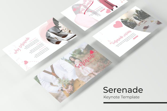 Thumbnail for Serenade - Keynote Template