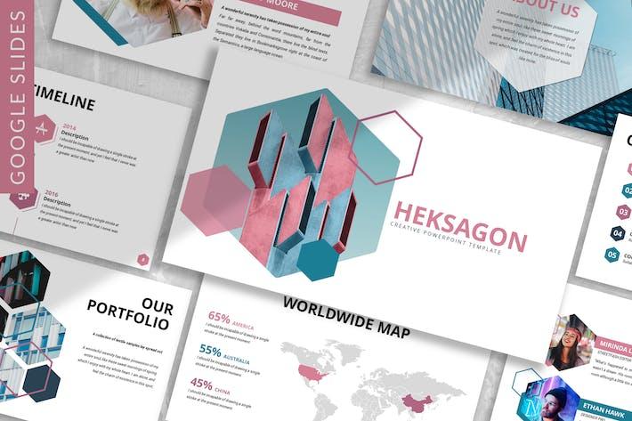 Thumbnail for Heksagon- Business Google Slides Template