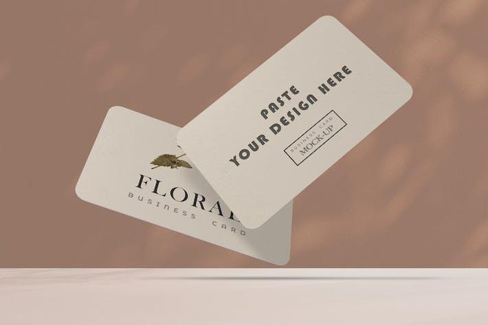 Thumbnail for Elegant Business Mockup Card V.1