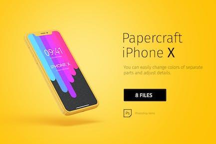Modèle de papier iPhone DIY