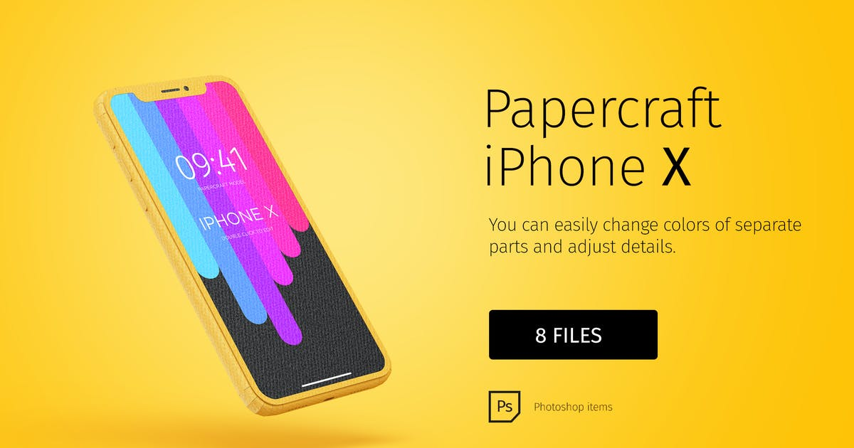 Download Paper model iPhone DIY by TIT0