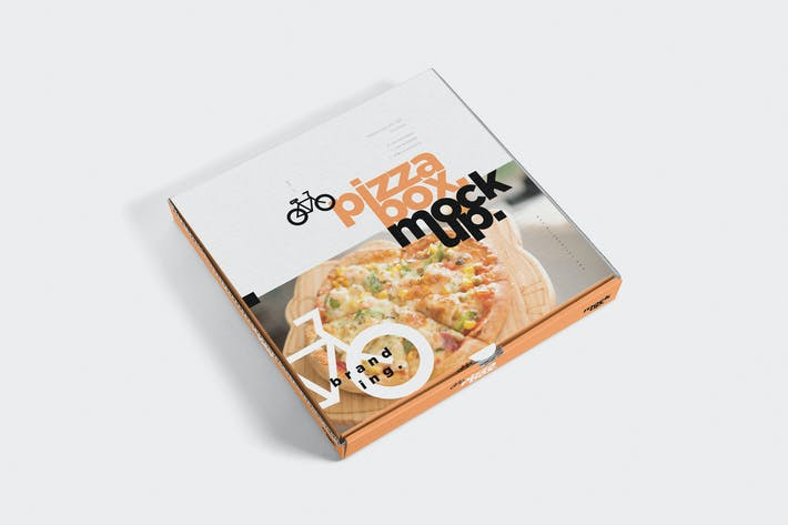 Thumbnail for 5 Pizza Box Mockups