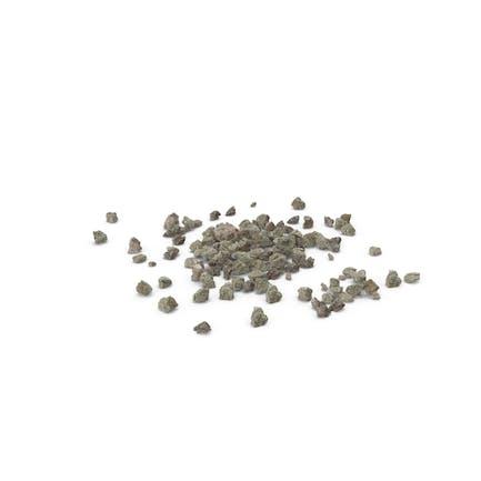 Piles of Broken Concrete Pieces