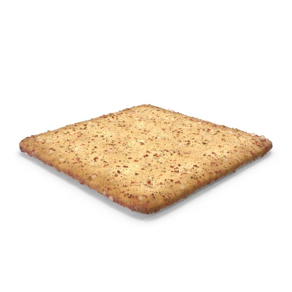 Thumbnail for Square Cracker With Spicy Seasoning