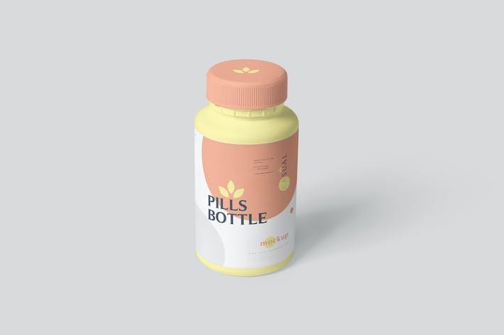 Thumbnail for Pills Bottle Mockups