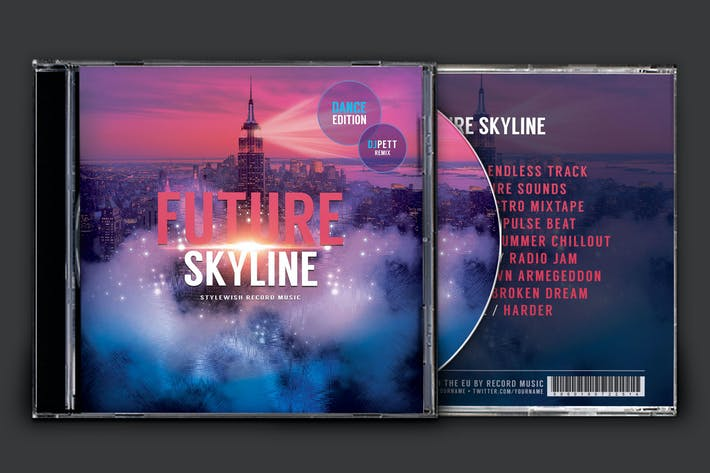 Thumbnail for Future Skyline CD Cover Artwork