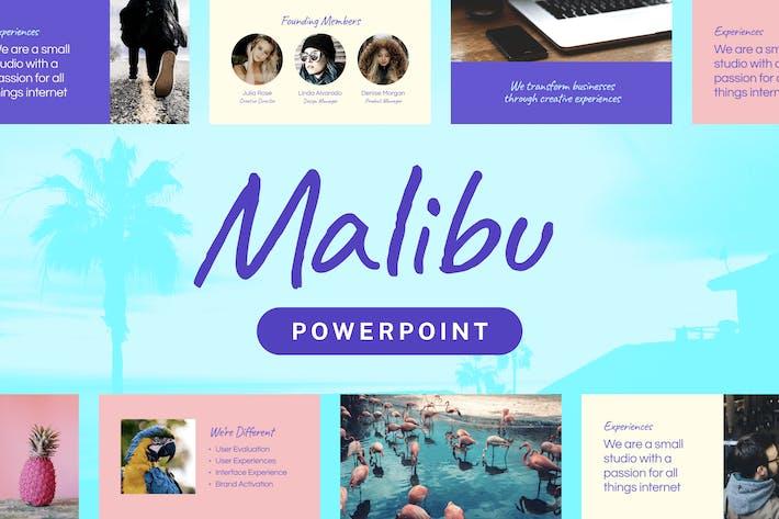Thumbnail for Malibu — Powerpoint Presentation Template
