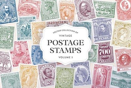Vintage Postage Stamps Vol. 3