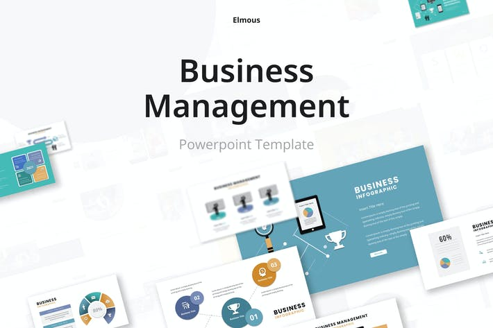 Business Management Infographic Powerpoint