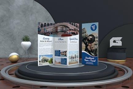 Travel Tri-Fold Brochure