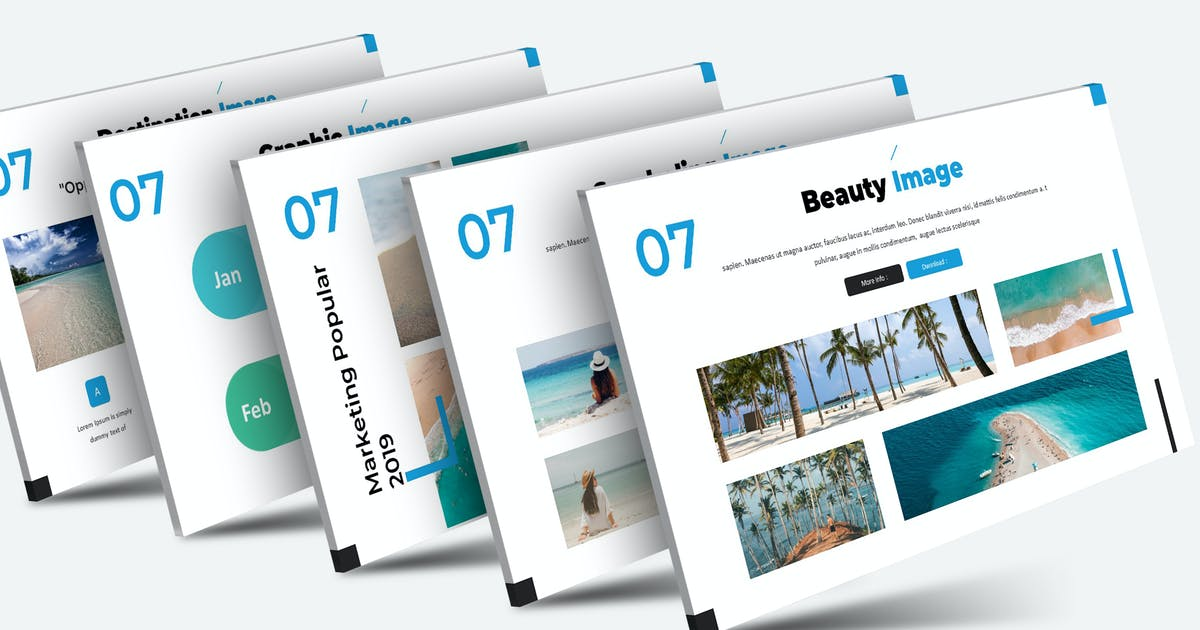Download Vacation - Keynote Template by aqrstudio