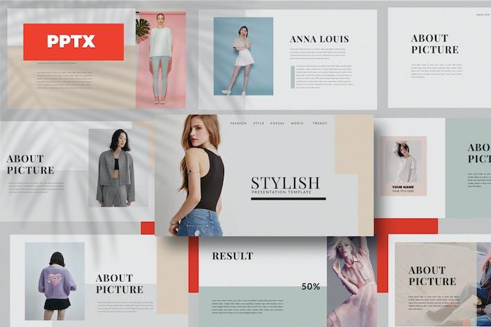 Thumbnail for lentitude - Fashion Powerpoint