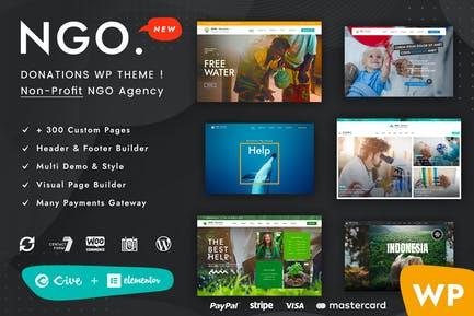 Ngo - Charity & Donation WordPress Theme