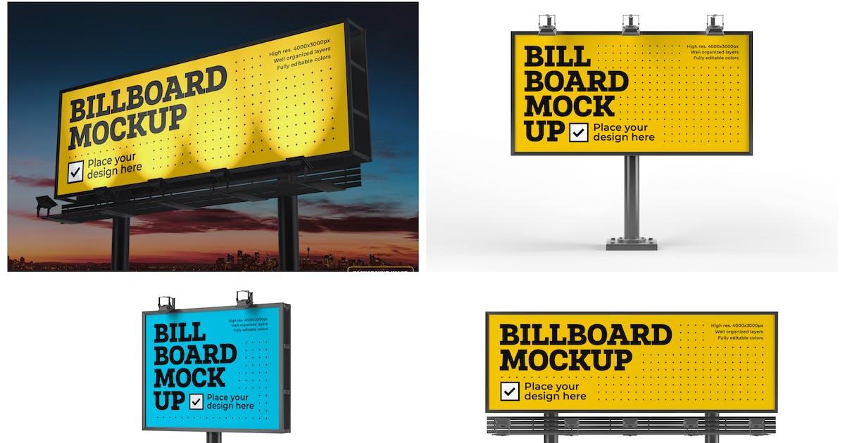 Download Billboard Mockup Set by deeplabstudio