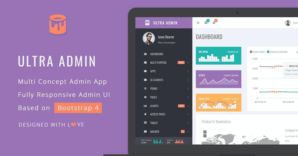 Download Ultra - Multi Purpose Admin Theme by themepassion