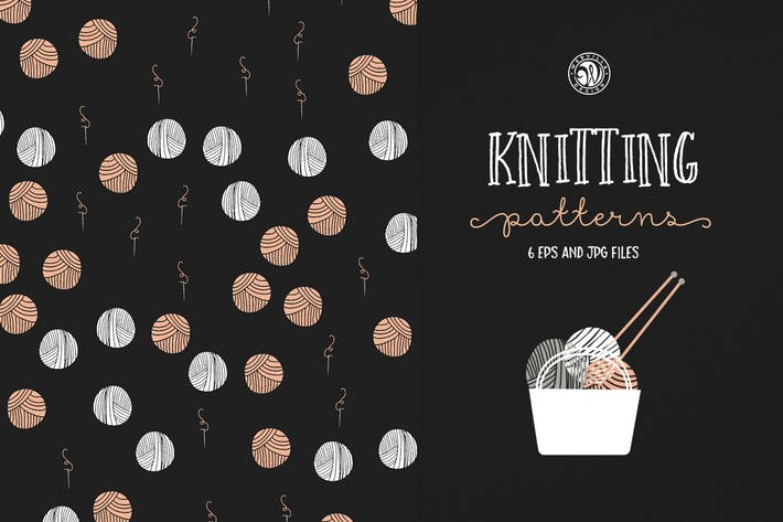 Cover Image For Knitting Patterns