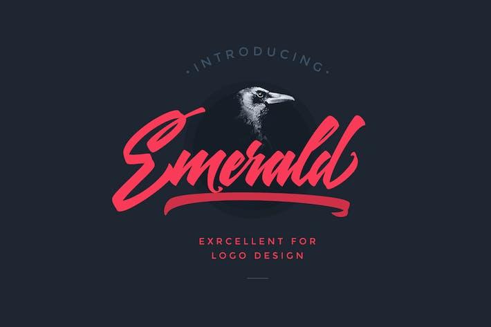 Thumbnail for Emerald Script Font