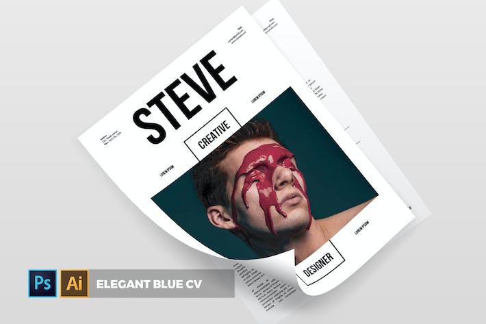 Thumbnail for The Steve   CV & Resume