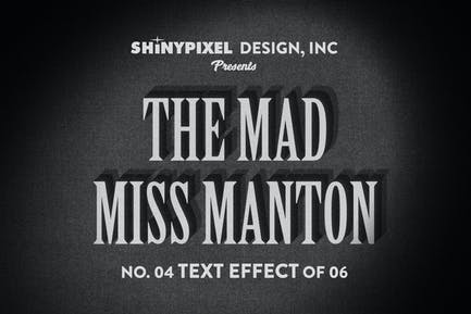 Old Movie Title - Text Effect n° 4 of 6