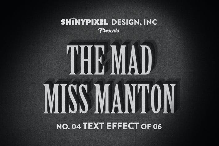 Thumbnail for Old Movie Title - Text Effect n° 4 of 6