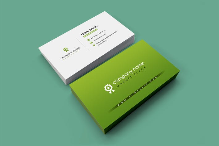 Thumbnail for Company - Market Business Card Template