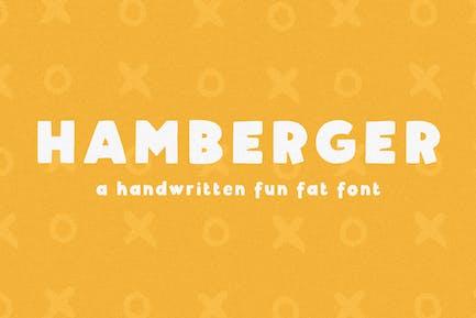 Hamberger - Fuente manuscrita