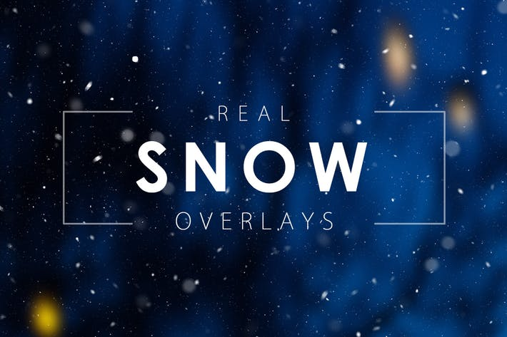 Thumbnail for Real Snow Overlays
